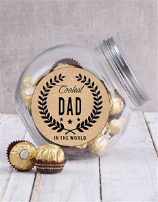 gifts: Coolest Dad Candy Jar!