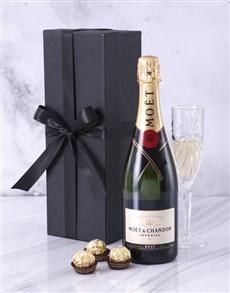 gifts: Black Box of Moet!