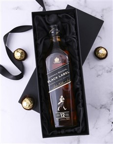 Gifts Black Box Of Johnnie Walker