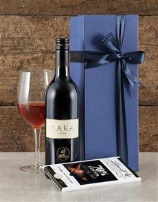 gifts: Blue Box of Raka!