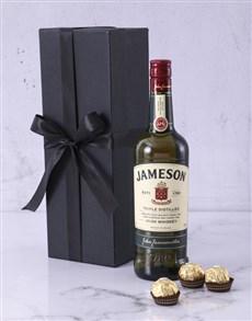 gifts: Red Box of Jameson!