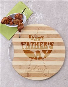 gifts: Round Happy Fathers Day Board!