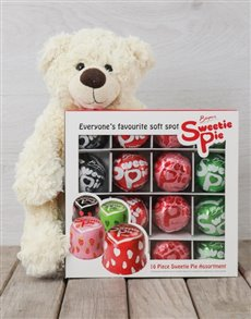 gifts: Sweetie Pie and Teddy Hamper!