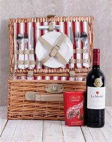gifts: La Motte and Lindt Picnic Basket!