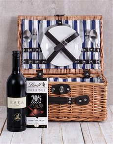 gifts: Raka and Lindt Picnic Basket!