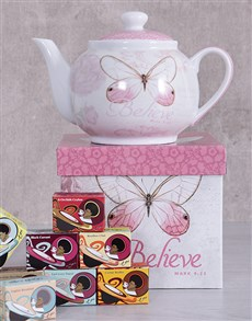 gifts: Believe Tea Pot Hamper!