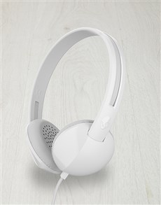 gifts: White Skullcandy Anti Headphones!