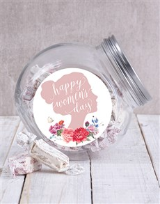 gifts: Womens Day Candy Jar!