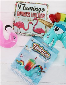 gifts: Inflatable Drinks Holders!