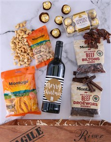 gifts: Christmas Treats Gourmet Hamper!