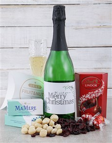 gifts: Christmas Bubbly Gourmet Hamper!