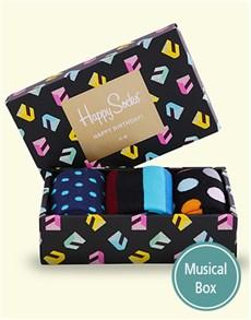 gifts: Happy Birthday Singing Happy Socks Giftbox!