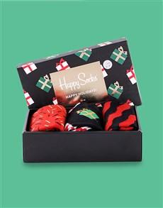 gifts: Festive Singing Happy Socks Giftbox!