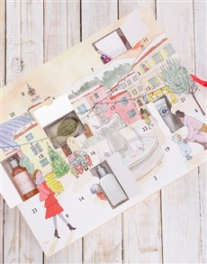 gifts: LOccitane Advent Calender Gift Box!