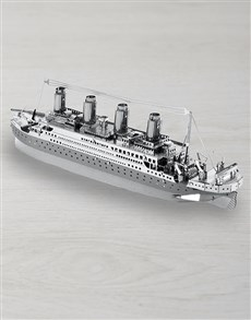 gifts: DIY Metal Earth Titanic 3D Model!