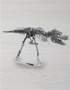 gifts: DIY Metal Earth T-Rex 3D Model!