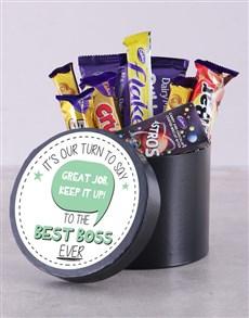 gifts: Great Job Chocolate Hat Box!