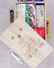gifts: Get Your Ho Ho On Chocolate Crate!