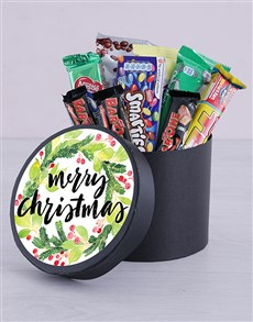 gifts: Merry Christmas Wreath Chocolate Hat Box!