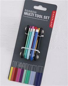 gifts: Kikkerland Rainbow Multitool!