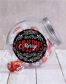gifts: Merry Christmas Candy Jar!