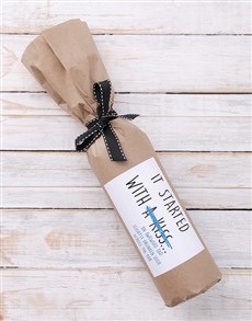 gifts: The Start Wine in Craft Paper!