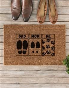 gifts:  Pet Mom Doormat!
