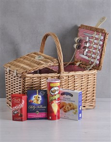 gifts: Snackers 4 Person Picnic Basket!
