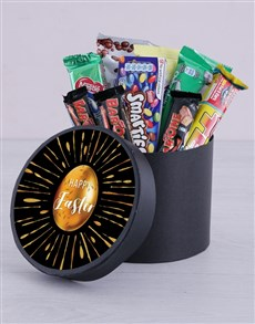gifts: Gold Egg Easter Hat Box!