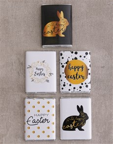 Order easter gifts online personalise your gift gifts happy easter chocolate slabs negle Images