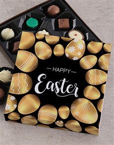 Golden Egg Easter Choc Tray
