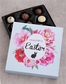 gifts: Floral Easter Choc Tray!