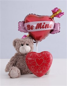 gifts: Teddy and Heart Tin!