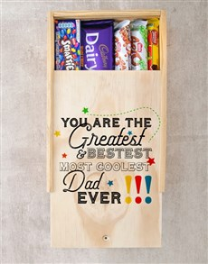gifts: Greatest Dad Ever Chocolate Tray!