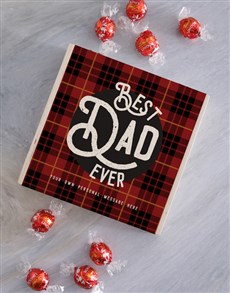 gifts: Best Dad Ever Chocolate Box!