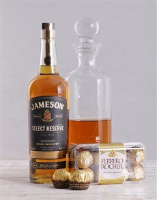 gifts: Jameson Select and Decanter Hamper!