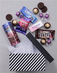 gifts: Pink Gourmet Gift Box!