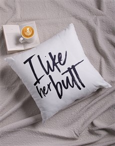 gifts: I Like Her Scatter Cushion!