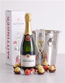 gifts: Taittinger Ice Bucket!