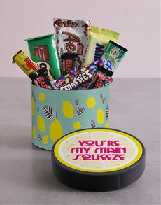 gifts: Lemon Hat Box and Treats!
