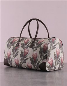 gifts: Protea Weekender Bag!