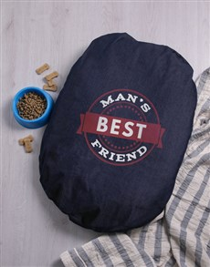 gifts: Best Friend Denim Bed!