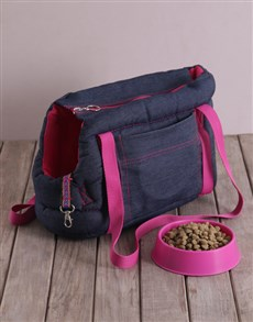 gifts: Pink Carrier Bag and Bowl!