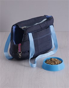 gifts: Blue Carrier Bag and Bowl!