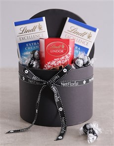 gifts: Lindt Trio in Hat Box!