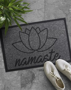 gifts: Namaste Doormat!