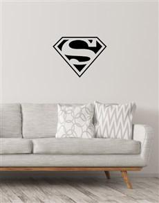 gifts: Superman Wall Vinyl!