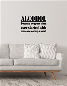 gifts: Alcohol Wall Vinyl!