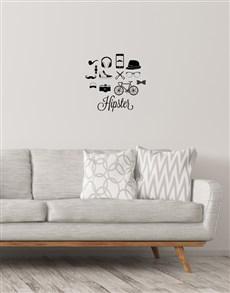 gifts: Hispter Wall Vinyl!