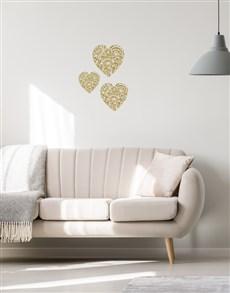 gifts: Hearts Wall Vinyl!